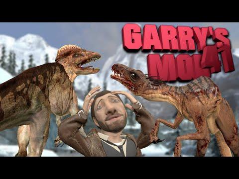 #41 Обзор Аддонов Garry's Mod - Новогодние Динозавры и Колдовые Взрывашки! thumbnail