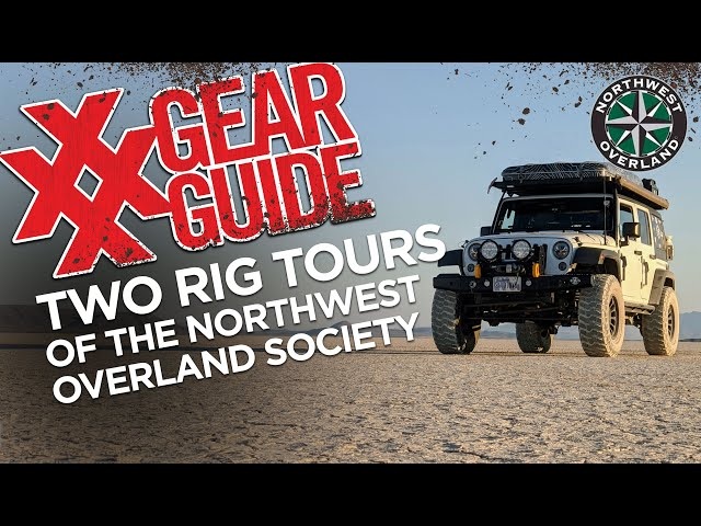 2 RIG WALK-AROUNDS of the Northwest Overland Great Basin Rendezvous