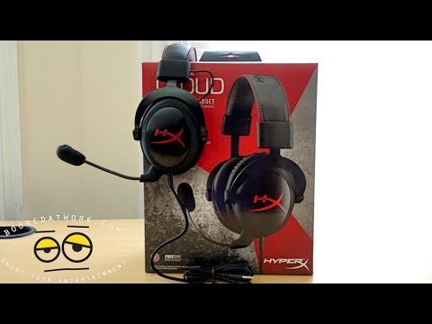 HyperX Cloud Gaming Headset Unboxing