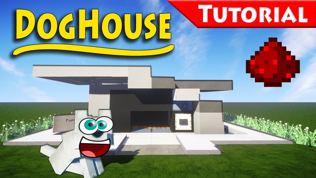 How To Make A Big Dog House In Minecraft