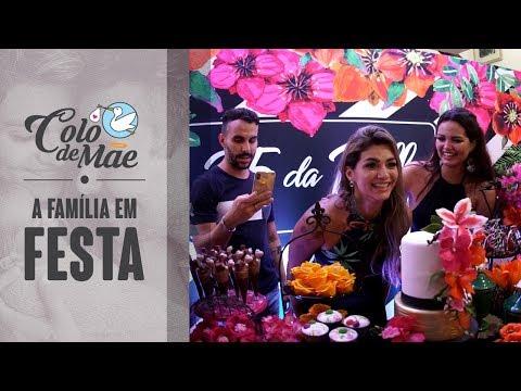 PBB COLO DE MÃE -  FAMÍLIA EM FESTA (Aniversário Kelly)