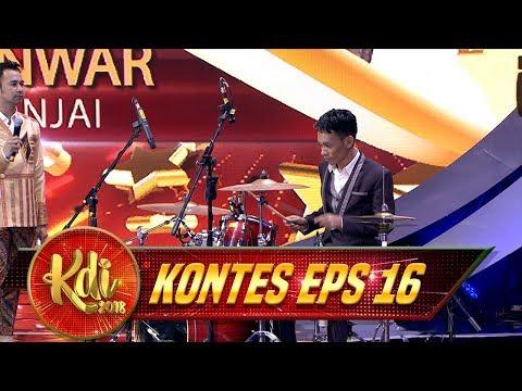 SIAPA SANGKA! Janwar Ternyata Master Dalam Bermain Drum - Kontes KDI Eps 16 (27/8)