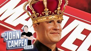 Kevin Feige Promoted: Now Runs All Marvel Movies, TV And Publishing - The John Campea Show
