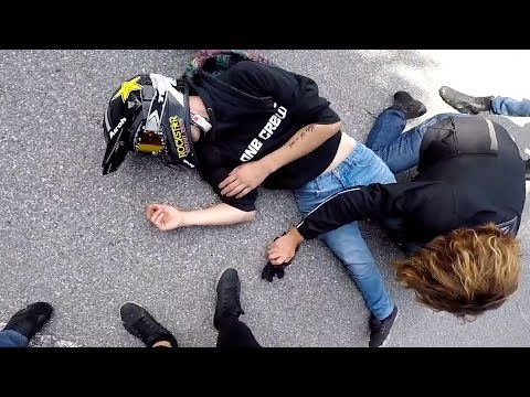 Thumbnail: Hectic Road Bike Crashes & Motorcycle Mishaps 2017 [Ep.#20]