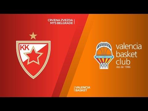 Crvena Zvezda mts Belgrade - Valencia Basket Highlights | 7DAYS EuroCup, T16 Round 4