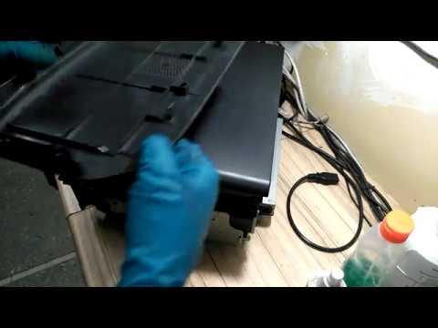 Инструкция как разобрать и собрать Panasonic KX-MB1500 (Замена ролика захвата бумаги)