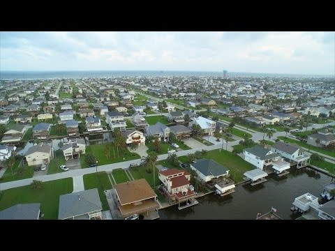 Flying with a Huge Pelican | Galveston Texas | Inspire 1 Drone in 4K!