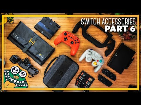 10 LATEST Nintendo Switch Accessories + NINTENDO SWITCH GIVEAWAY! - Part 6 - List and Overview