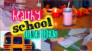 Healthy school lunch ideas: Back to school Thumbnail