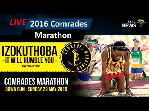 2016 Comrades Marathon: 29 May 2016