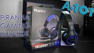 A101'de 35₺'ye Piranha 2145 Gaming Kulaklık Kutu Açılımı ve İncelemesi | Piranha Oyuncu Kulaklığı