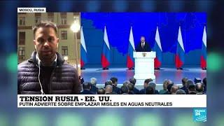 Informe desde Moscú: Vladímir Putin dice que apuntará a EE. UU. si despliega misiles en Europa