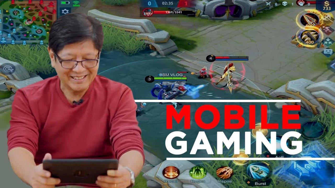 BBM VLOG #102: Mobile Gaming | Bongbong Marcos #1