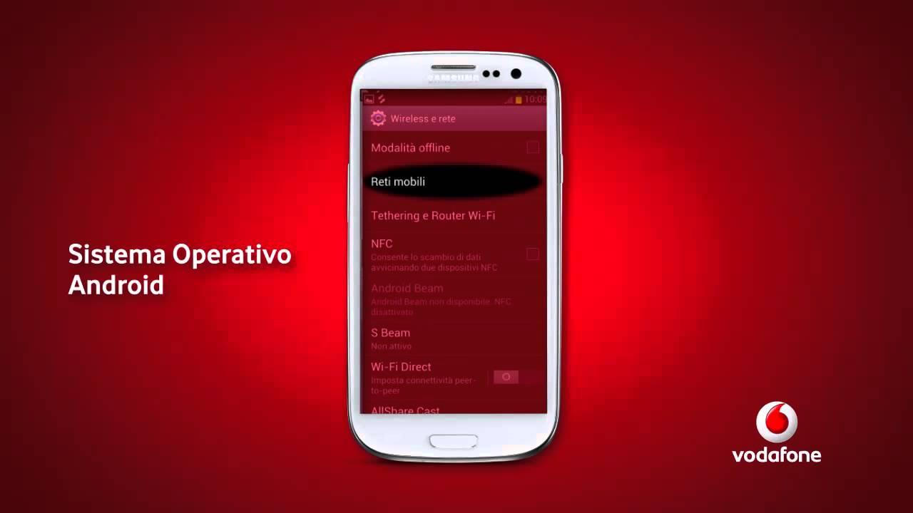 mobile config per configurare lapn iliad italia