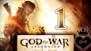 #1 God of War 4 ascension (trial) 4 прохождение / lady letsplay FullHD