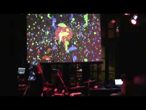 VJ TENCU live-mix for BROKEN TIME ORCHESTRA