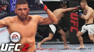 Jeremy Stephens Is A Brawler! Lil' Heathen Putting In Work! EA Sports UFC 2 Online Gameplay