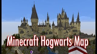 Minecraft Hogwarts Map sei Harry Potter