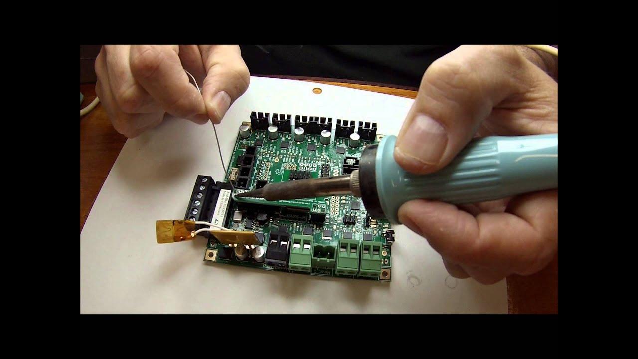 assembling the rambolcd wiring adapter board assembling the rambolcd wiring adapter board