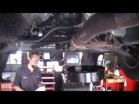 How To Change The Oil On A  Ford Edge V