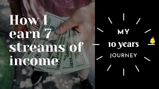 How I Built 7 Multiple Streams of Income | Financial Independence