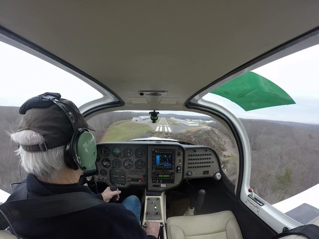 Landing at Chester Ct.