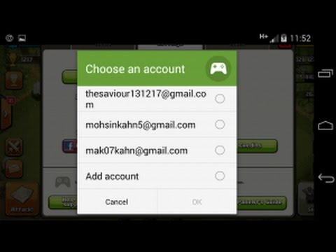 free clash of clans account and clash royale account