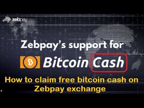 How To Claim Free Bitcoin Cash On Zebpay Exchange || Bitcoin Cash Address For Zebpay BCH
