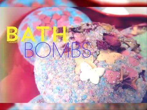 easy diy bath bombsbombes de bain facon lush - Colorant Bain