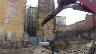 видео Фундаментные блоки тонна