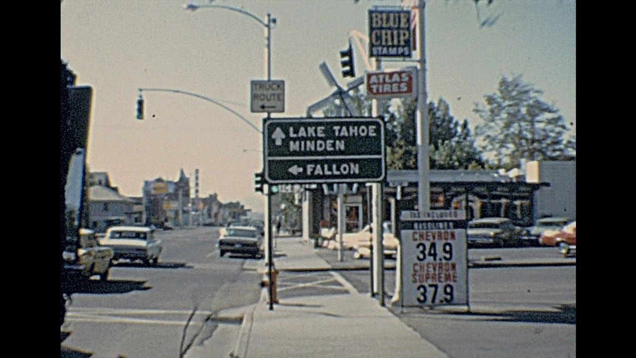 Life in Carson City 1966 – Archive Footage