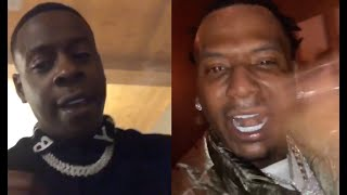 Blac Youngsta Gets MoneyBagg Yo Mad Drunk After Giving Him Diamond Chain On His Birthday