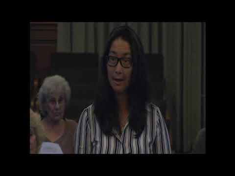 Dorothy Wong Says Save the Trees and Save Hahamongna