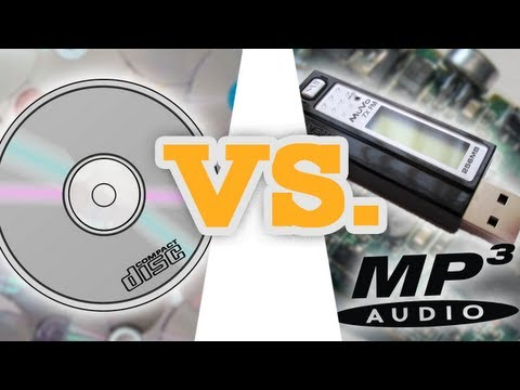 MP3 vs. CD