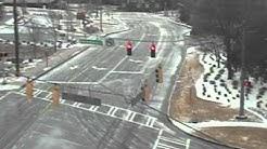 Atlanta Traffic Cameras Show Virtual Ghost Town