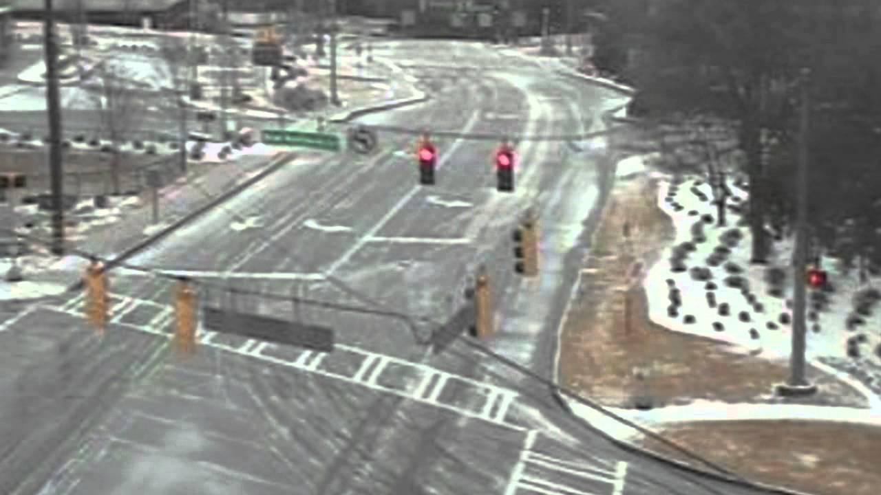 Atlanta Traffic Cams >> Atlanta Traffic Cameras Show Virtual Ghost Town Youtube
