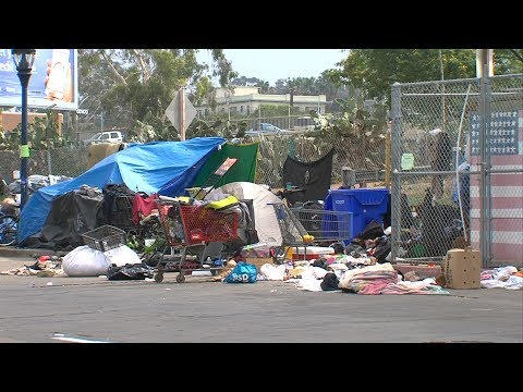 Invisible But In Danger: San Diego's Homeless Are Targets For Attacks