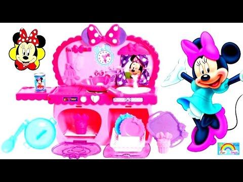 Disney Minnie Mouse Bow Tique Bowtastic Kitchen Playset