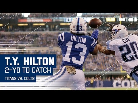 T.Y. Hilton Makes an Incredible TD Catch! | Titans vs. Colts | NFL
