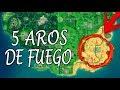 FORTNITE ¿Dónde están TODOS los AROS DE FUEGO? | SEMANA 4