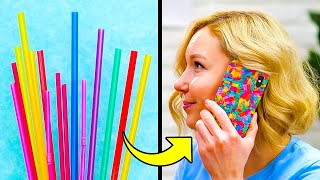 CREATIVE DIY PHONE CASES || 5-Minute Recipes For Your Gadget