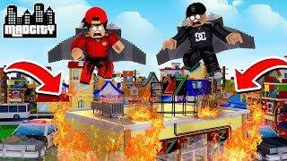 ROBLOX - MAD CITY, THE JET-PACK BOYS!!