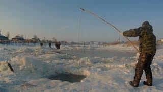 Рыбалка в глухозимье с новой камерой Eyo...