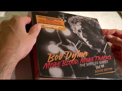 UNBOXING Bob Dylan - More Blood, More Tracks: The Bootleg Series Vol. 14 (6-disc deluxe set) Mp3
