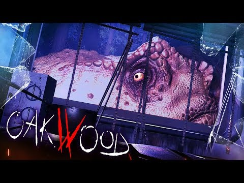 IF JURASSIC PARK WAS A HORROR GAME! NEW DINOSAUR HORROR | Oakwood (Oakwood Part 1)