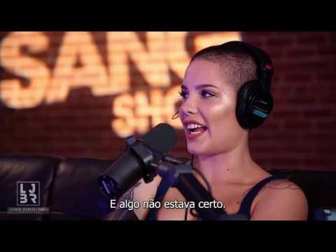Halsey talks Strangers ft. Lauren Jauregui on Zach Sang Show (legendado PT-BR)