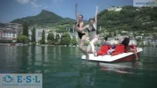 Soggiorno linguistico in Montreux, Svizzera, con ESL -- Soggiorni linguistici