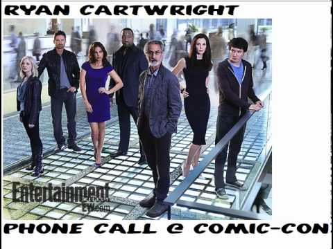 Ryan Cartwright phone calls at Comic-Con (AUDIO)