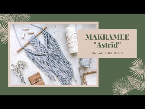 DIY Makramee Wandbehang