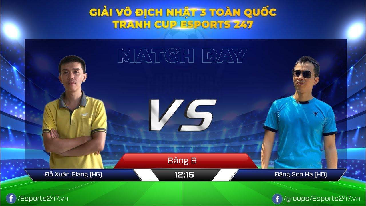 Xuân Giang [Hà Giang] vs [Hải Dương] Sơn Hà   VCK Nhật 3 Toàn Quốc   Bảng B